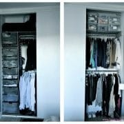 platsbyggd garderob inredning