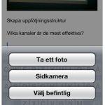 Ta bilder i Evernote