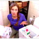 Förvaringsdrottningens förvaringstips för badrummet i Äntligen Hemma