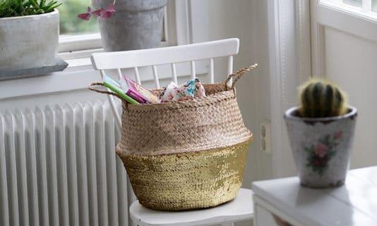 Utkorgar i hemmet - organisera och förvara hemma ett projekt i veckan