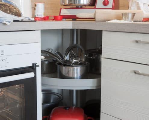 Köket - kastruller
