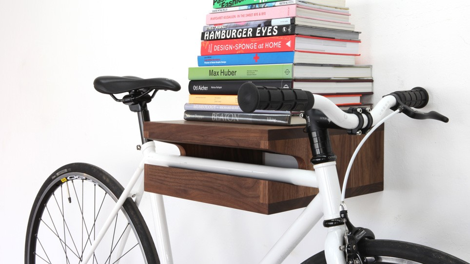 bike shelf knife and saw