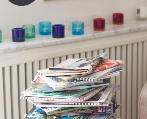 bli av med pappers- och tidningshögar