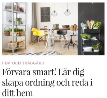 Förvara smart onlinekurs