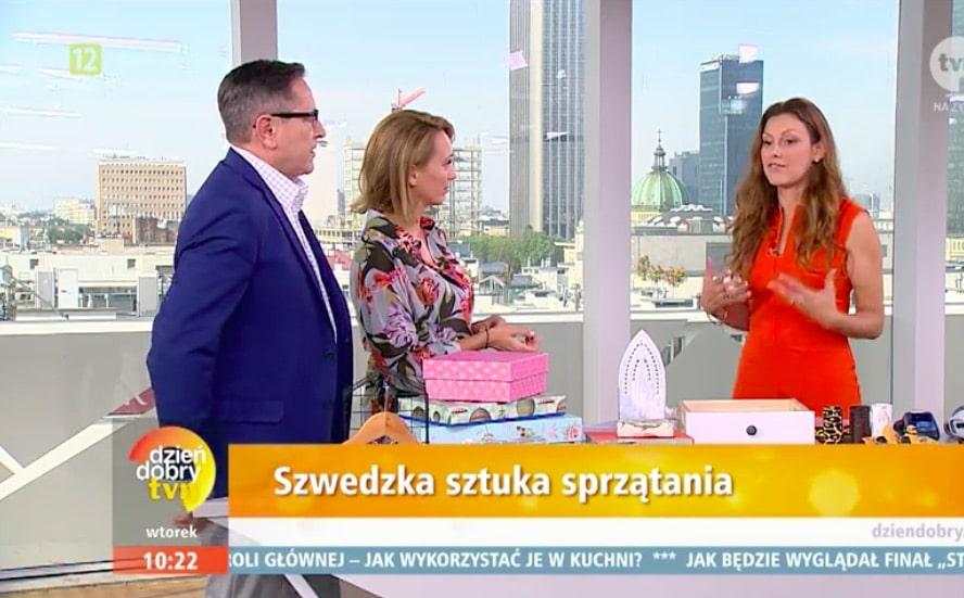 Dzien dobry TVN Polen Paulina Draganja Förvaringsdrottningen