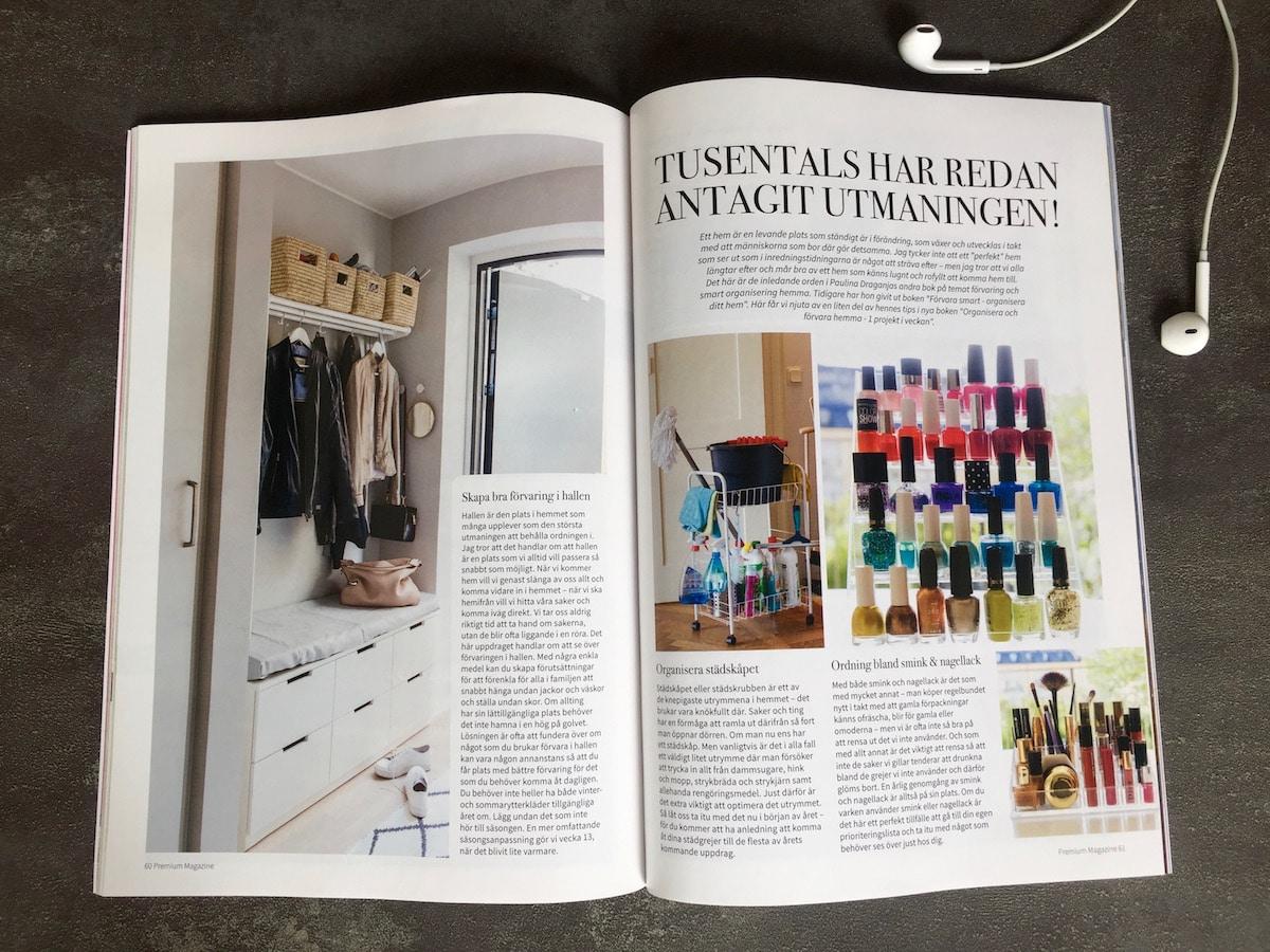 Premium Magazine Organisera och förvara hemma
