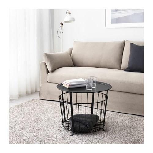 Gulöv förvaringsbord IKEA