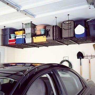 förvaring i taket i garaget