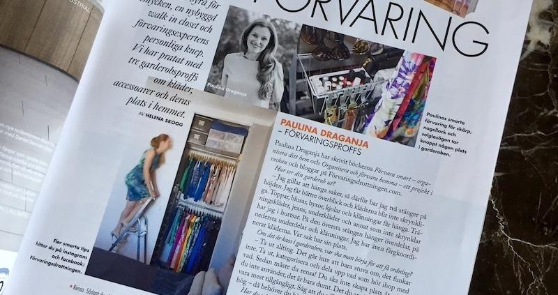 aktiv garderob Paulina Draganja Förvaringsdrottningen Elle Decoration