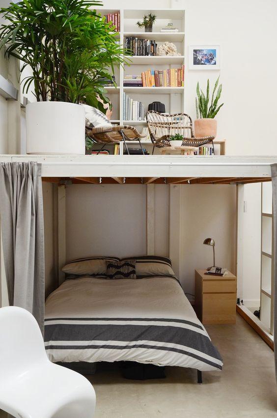 sängloft under i stället för över