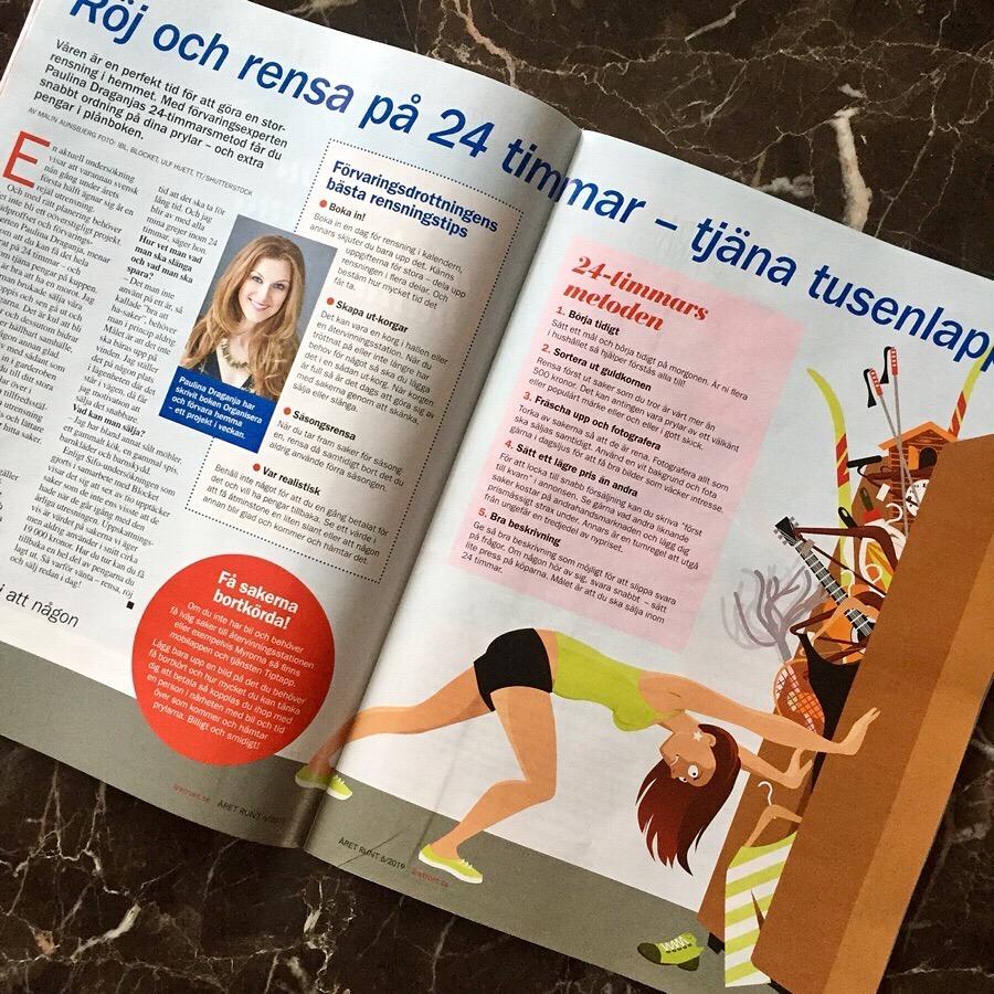 Paulina Draganja Förvaringsdrottningen i Året Runt