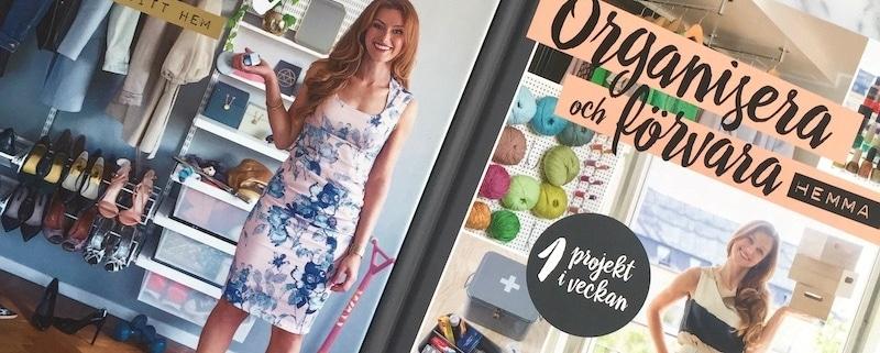Förvara smart och ett projekt i veckan Paulina Draganja