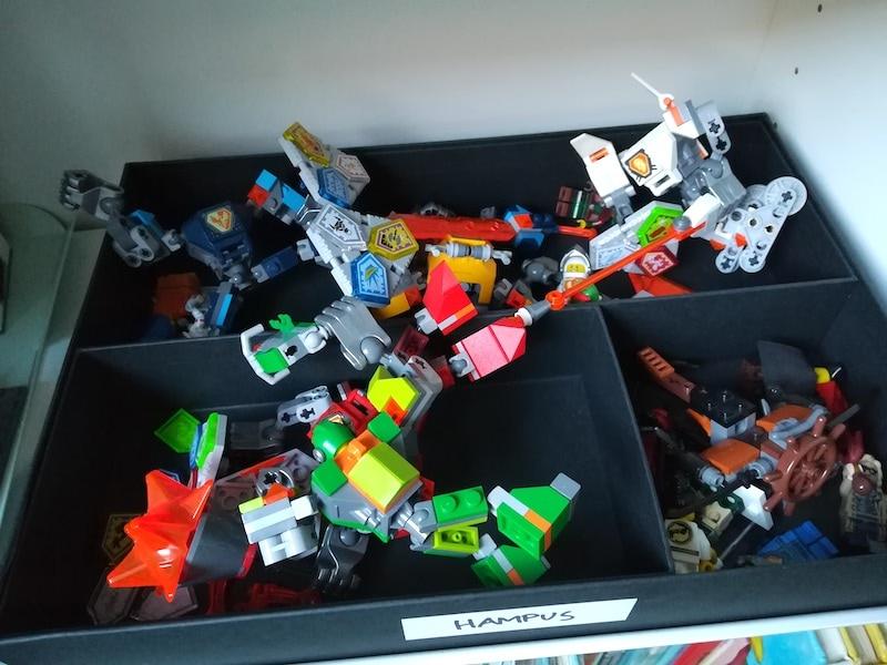 Lego organisering
