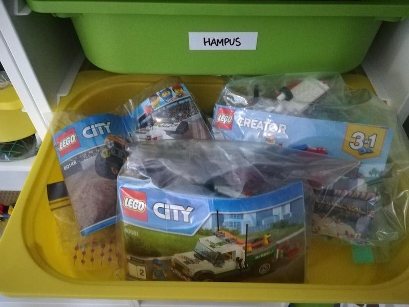 Lego organisering - läsartips