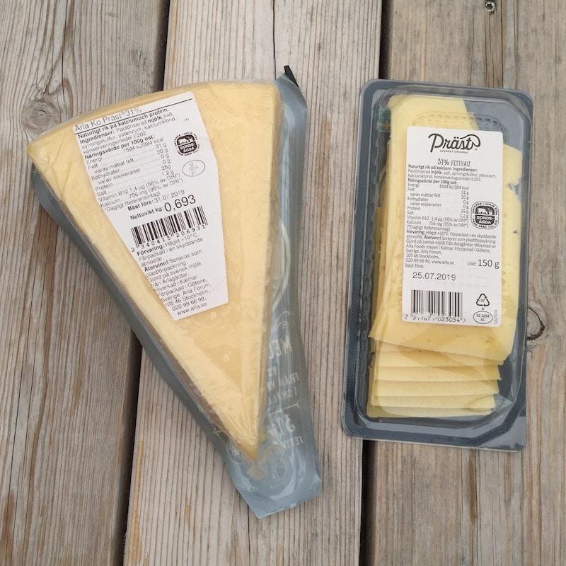 vilken ost är mest miljövänlig