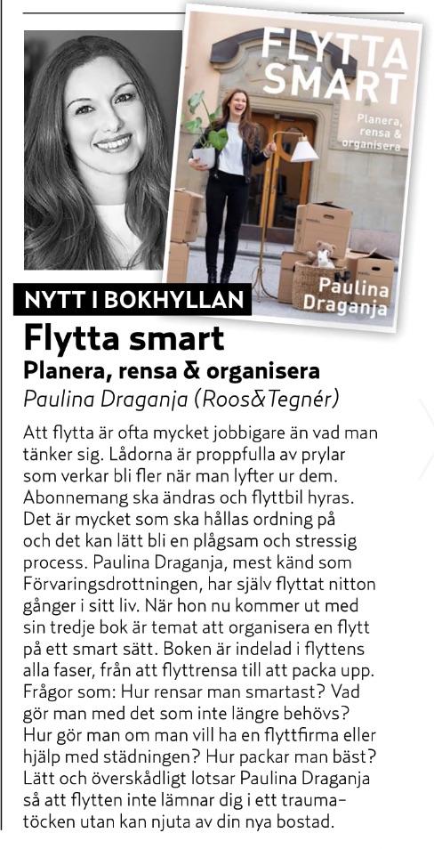 Aftonbladet Härligt Hemma Flytta Smart Paulina Draganja