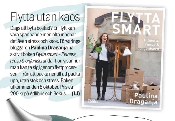 Aftonbladet Söndag Flytta smart Paulina Draganja