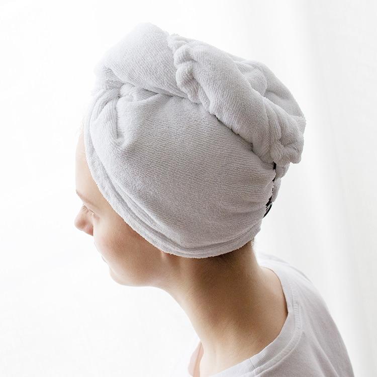 nanohandduk för håret